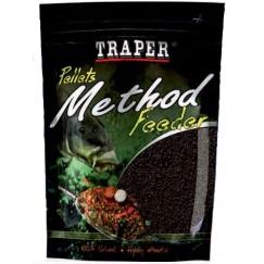 Прикормка Traper Method Feeder Pellet 4мм/500г (в ассортименте)